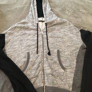 Rag and Bone zip up sweatshirt